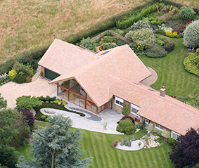 Gaulby House - Architect Aerial View